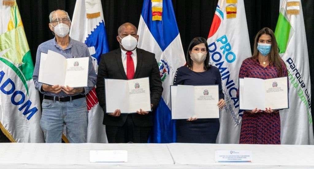 ProDominicana firma acuerdo para promover exportaciones de Mipymes