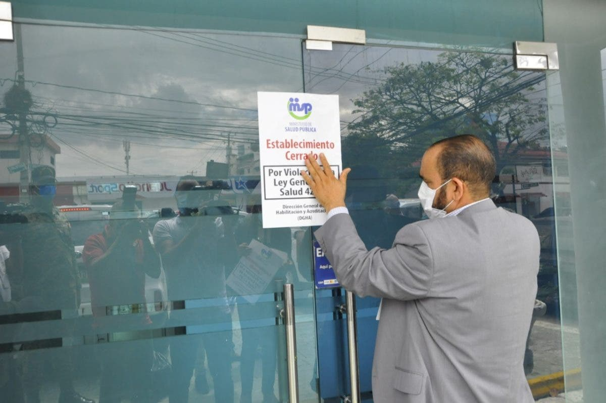 Salud Pública cierra Dreams Body Clinic and Spa por incumplir normas para operar