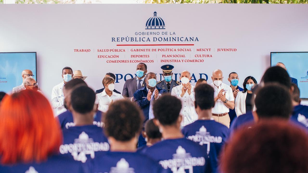 """Gabinete de Política Social pone en marcha """"Oportunidad 14-24"""" en Pedro Brand"""