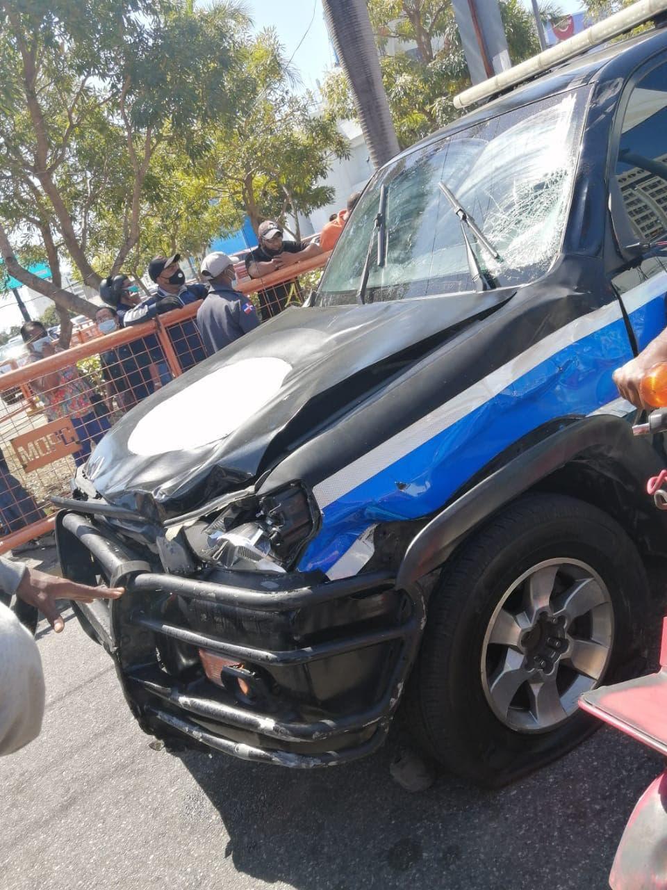 Se trata de Aneudy Manuel Castillo García, quien falleció en el accidente registrado en la intersección de las avenidas 27 de Febrero con Winston Churchill, a las 11:20 am de este jueves.