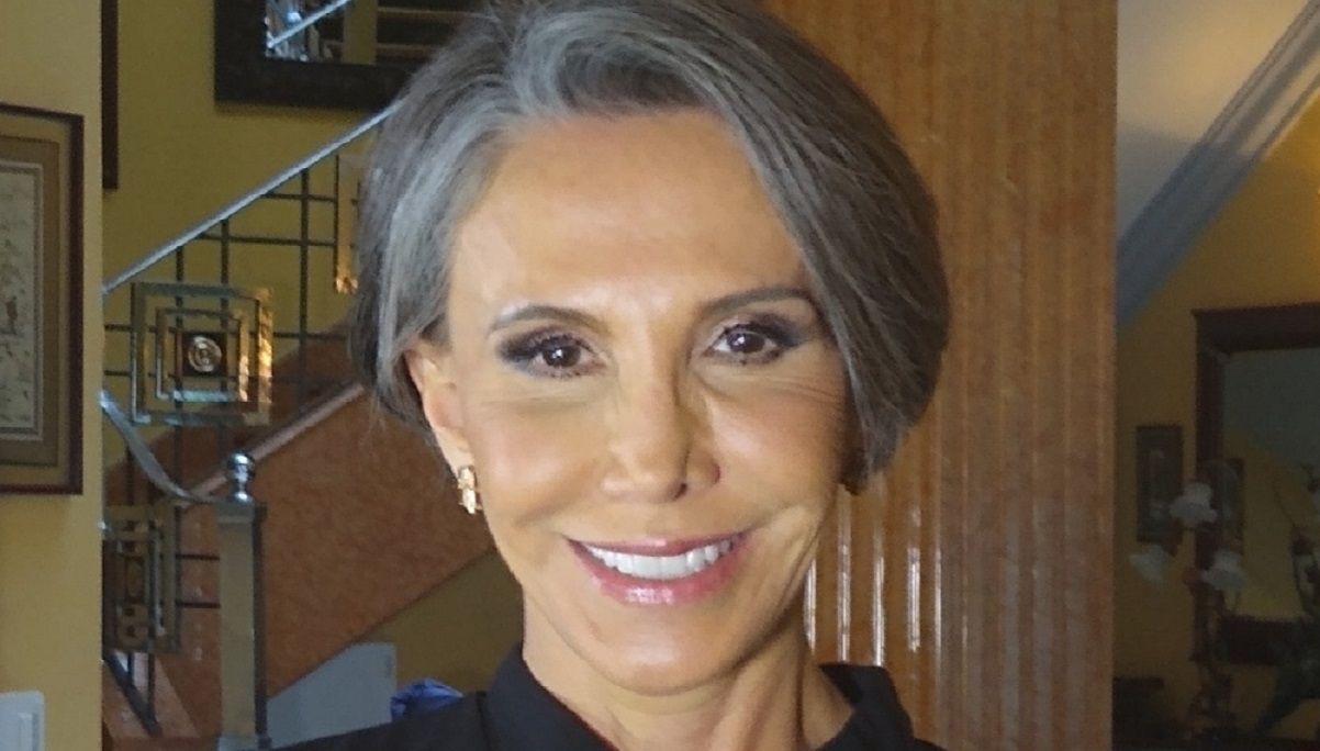 Florinda Meza de luto por partida doble. FUENTE EXTERNA