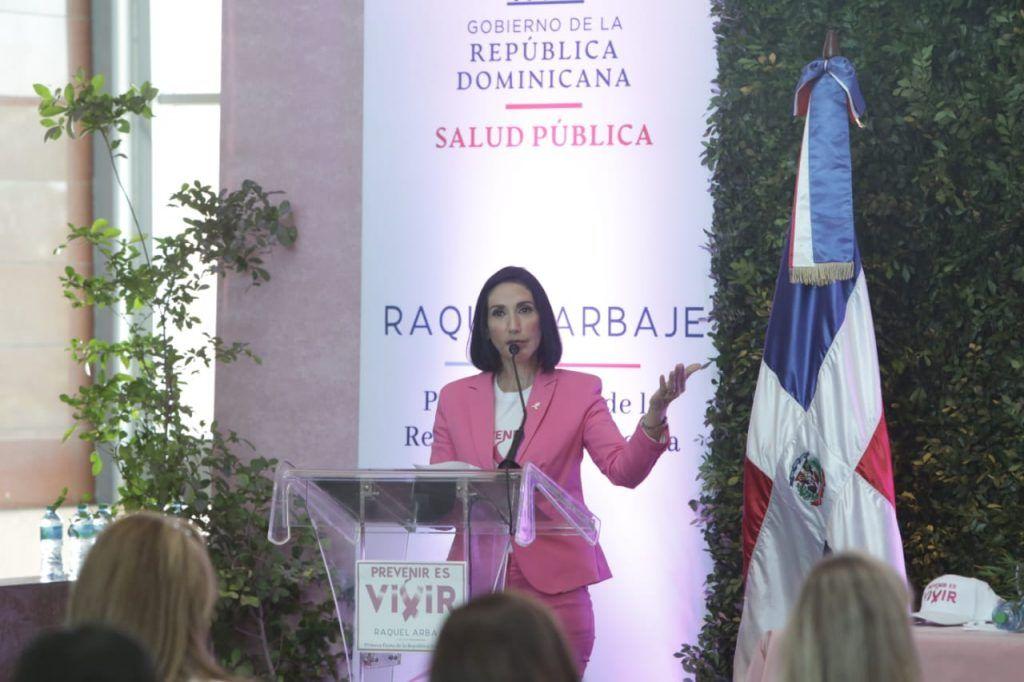 Primera dama lanza proyecto para la detección temprana de cáncer