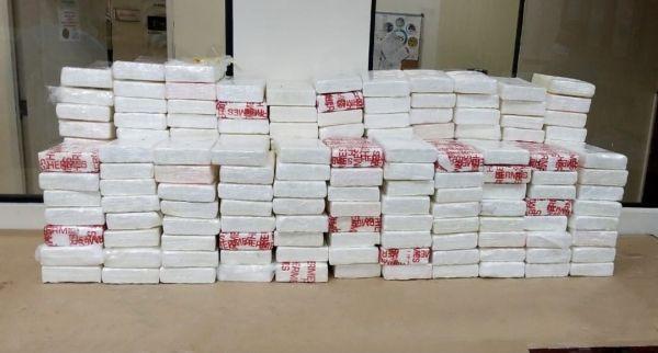 ¡Ay sí, es cocaína!: determinan es cocaína 217 paquetes ocupados en costas de azua