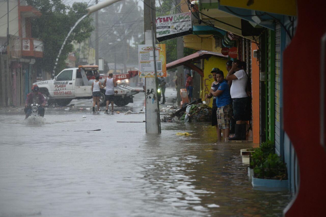 Continúan las lluvias, según Onamet