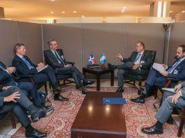 Abinader se reúne con presidentes de Guatemala y Ecuador