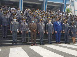 Chú Vásquez juramenta al nuevo director de la Policía Nacional